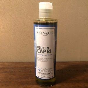 Accessories - SKIN&CO Blue In Capri Shower Gel